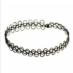 Accessories - Black Tattoo Choker